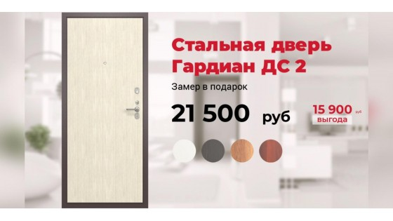 Входная дверь ДС 2 по ЦЕНЕ завода