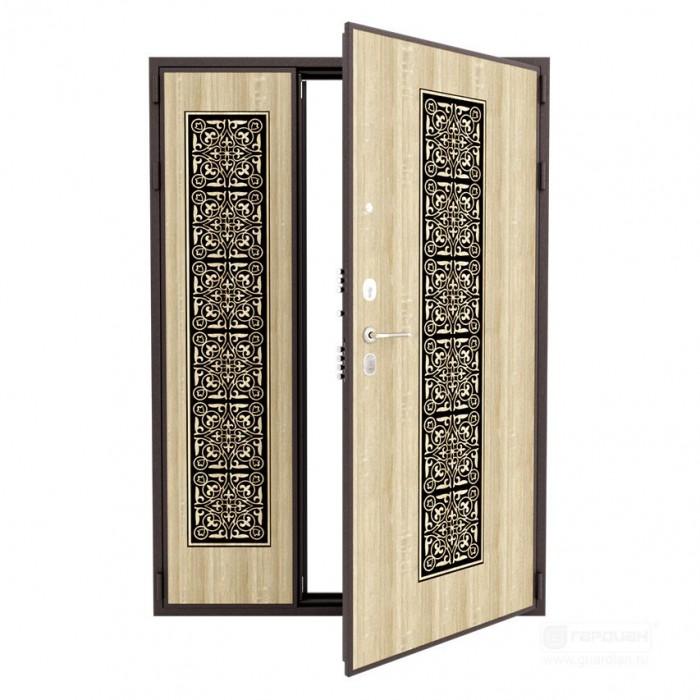Стальная дверь ДС 3 двустворчатая